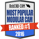 BobCAD-CAM Ranked #1 Most Modular CAM