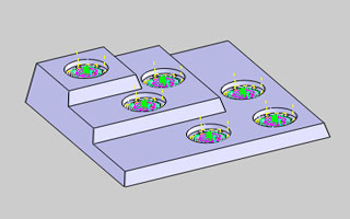 BobCAD-CAM V30 Toolpath Pattern - Points