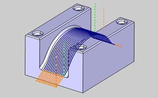 BobCAD-CAM V30  New Feature Extend Cut Move