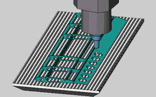 BobCAD-CAM V30 Simulation New Feature Automatic Chip Removal Based on Volume