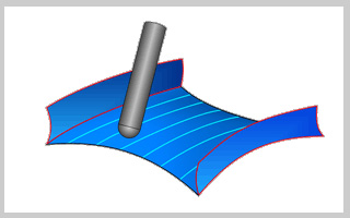 BobCAD-CAM V30  New Feature 3 AXIS Premium Morph Between 2 Curves