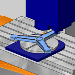 New Mirror Option for Multiaxis Toolpaths