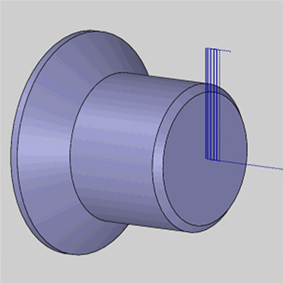 BobCAM for SOLIDWORKS V6 Lathe End Face Feature