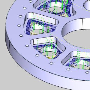 BobCAM for SOLIDWORKS V6 Improved Open Shape