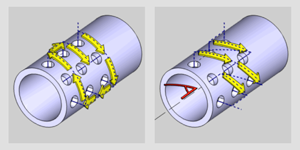 BobCAM for SOLIDWORKS Machine Sequence for Drilling Operations