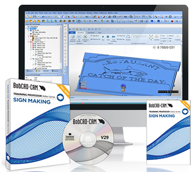 BobCAD-CAM Sign Making Series Video Training Series