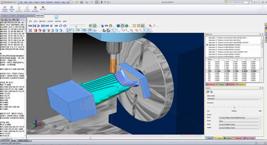 4 Axis CAD-CAM Software
