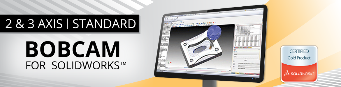 BobCAM for SolidWorks 2 & 3 Axis Standard