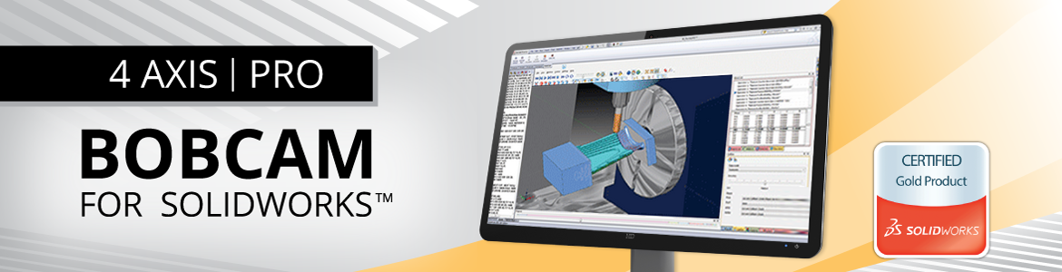 BobCAM for SolidWorks 4-Axis Pro