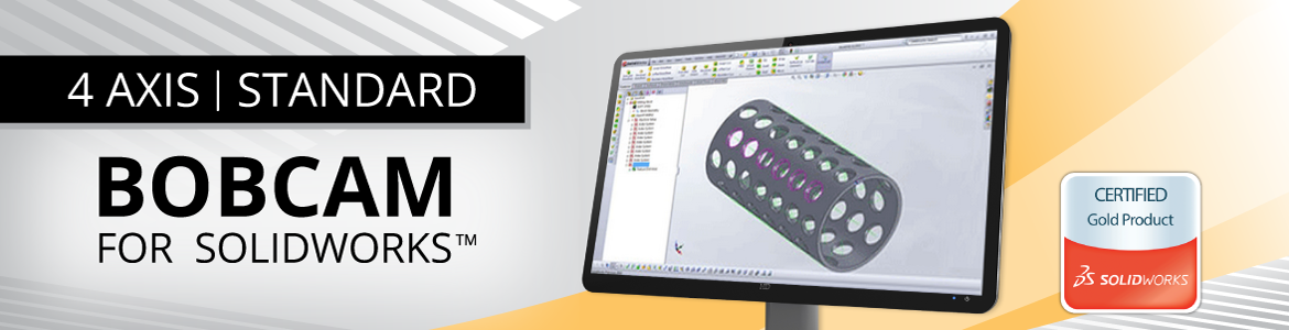 BobCAM for SolidWorks 4 Axis