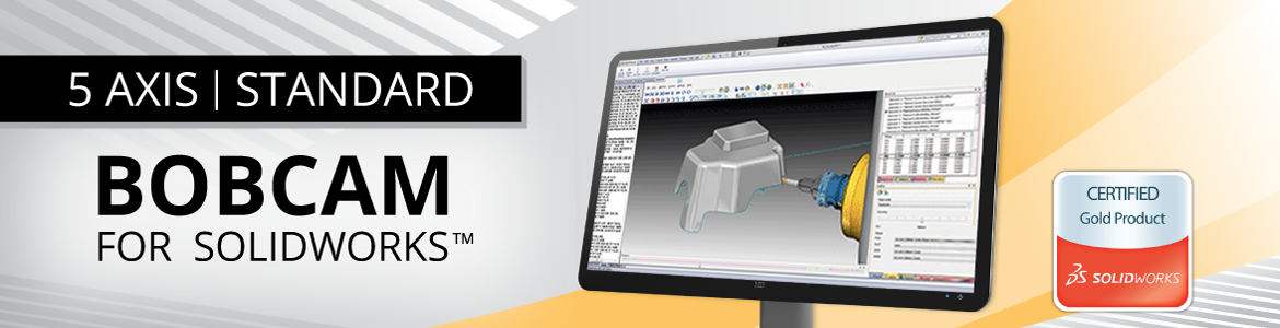 BobCAM for SolidWorks 5 Axis Standard