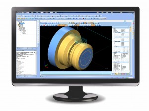 CAD CAM Software Lathe Simulation