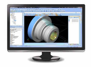 CADCAM Simulation for CNC Lathe