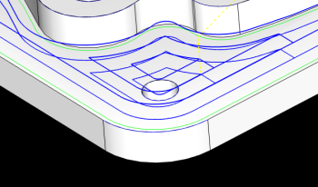 Pocket In/Out Toolpath