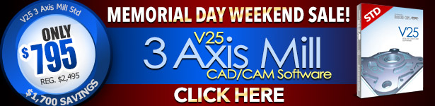 CAD-CAM Memorial Day Weekend Sale