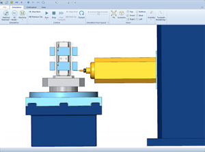 BobCAD-CAM Machine Simulation
