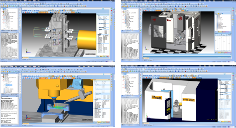 cnc software machine simulation