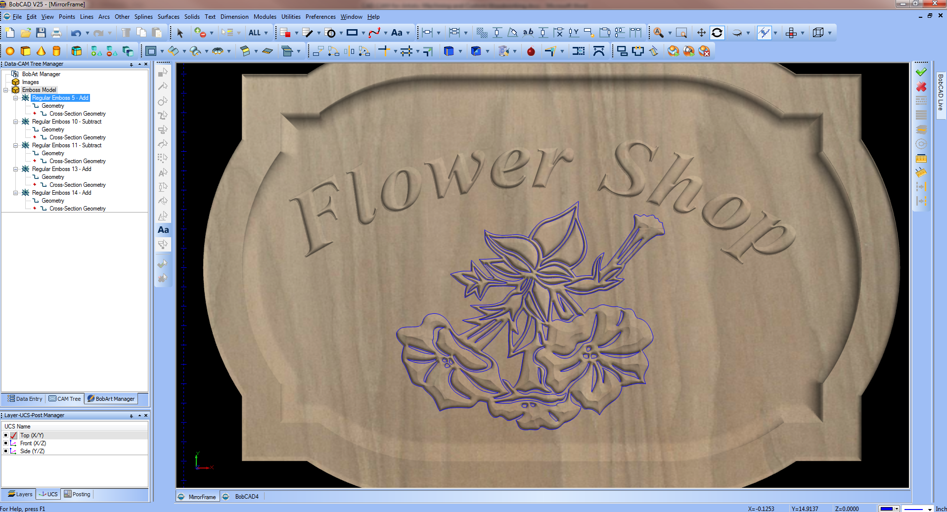 Artistic CAD-CAM Software for Custom Woodworking & CNC Routing ...