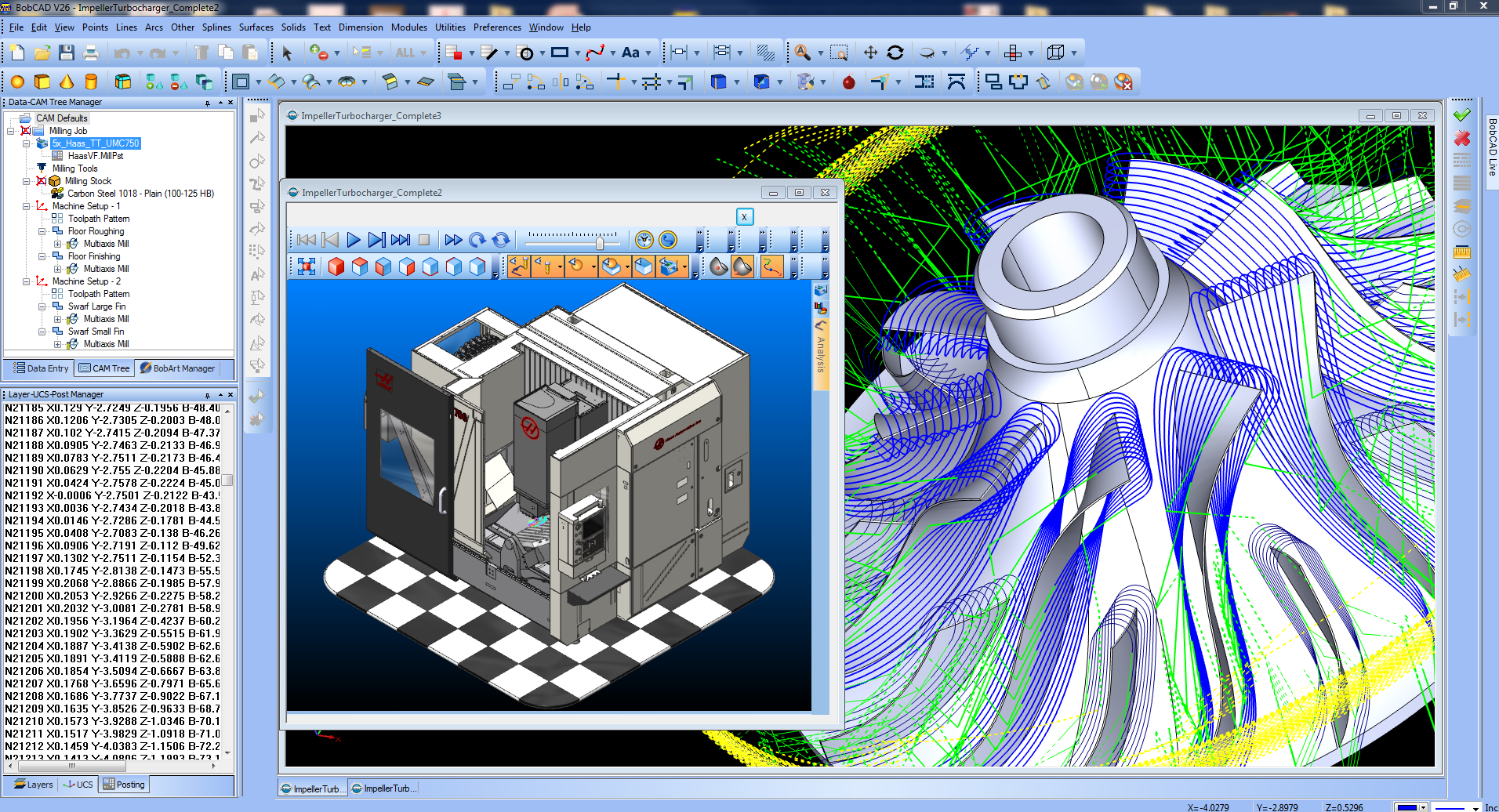 Why cad cam in the cnc manufacturing process bobcad cam Simple cad software