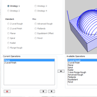 CAM software machining wizard