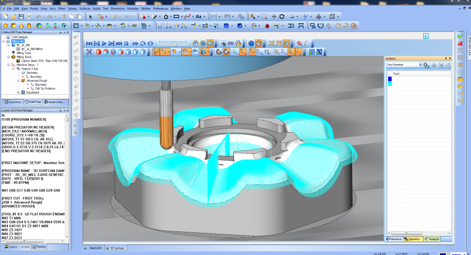 CAM Software – CNC Software for Machine Tools
