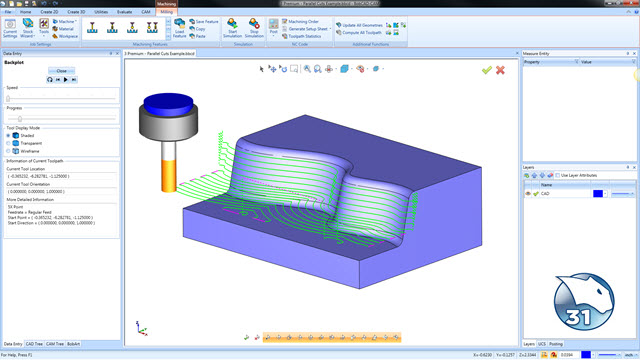 BobCAD-CAM V31 Mill Video Training Series