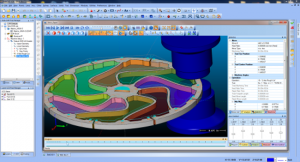 CAD-CAM software for wire edm machining