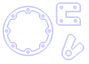 CAD Nesting Shapes
