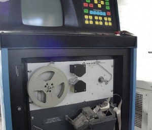 cnc behind the tape reader system