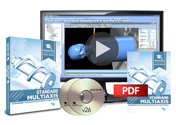 BobCAD-CAM Releases New MultiAxis Training Videos for Standard CAD-CAM Version