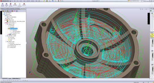 CAD-CAM Software (3-axis pro)