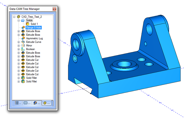New Cad Design Tree Cad Software Bobcad Cam