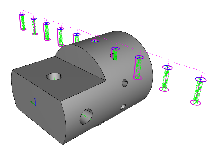 BobCAD CNC software contour ramping feature