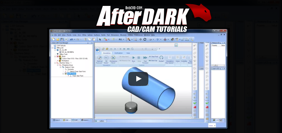 BobCAD After Dark CAD-CAM Video Tutorials