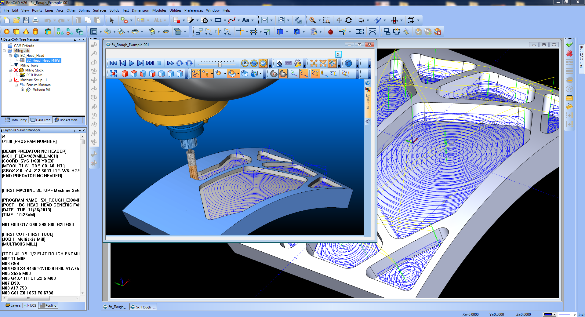 Bobcad cam v27 cnc software supports good customer service for Machine shop layout software
