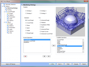 CAD CAM software's Advanced Roughing and Dynamic Machining Strategies