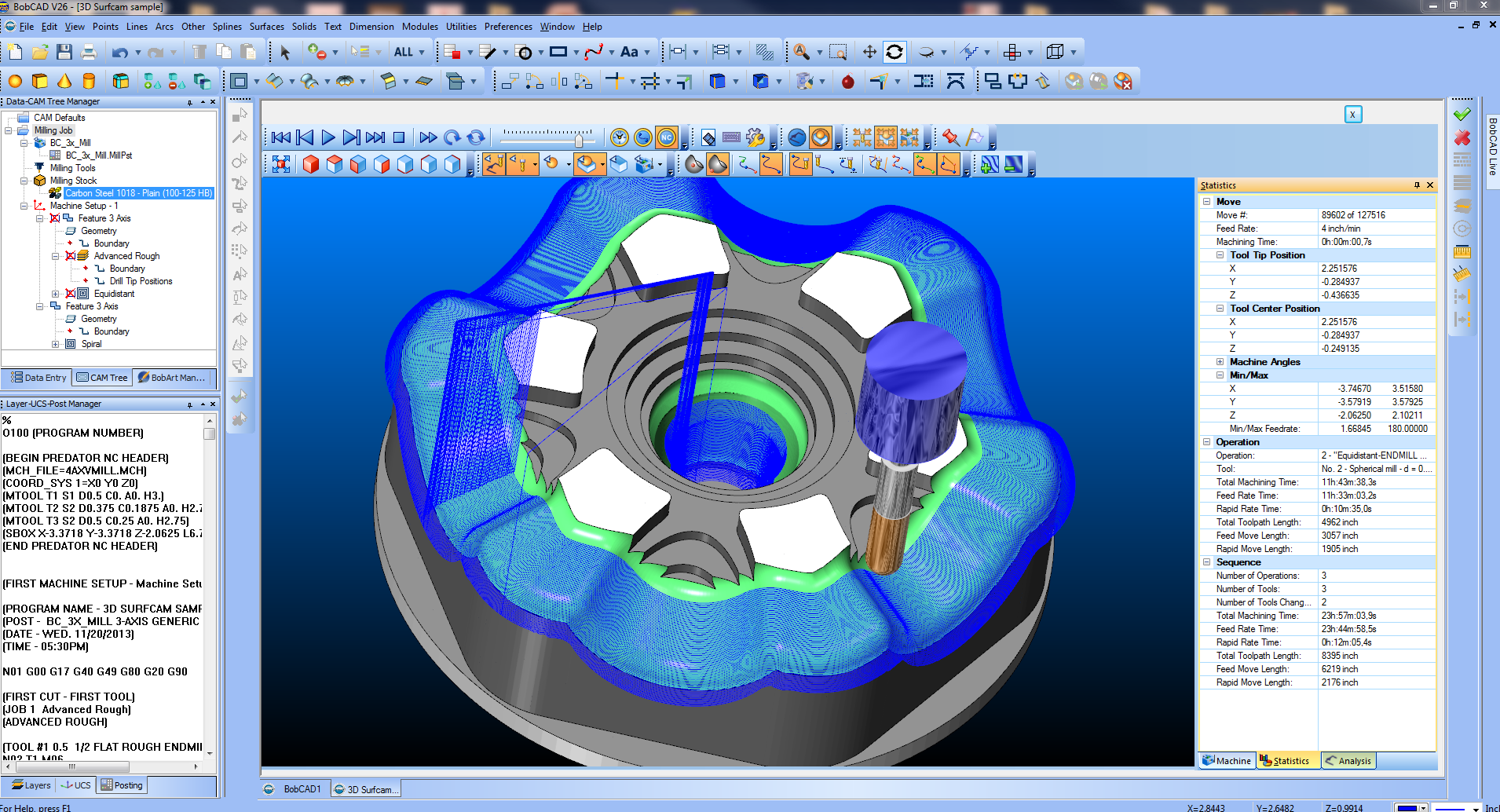 Cad cam for cnc manufacturing metalworking machine shops for Simple 3d cad software free