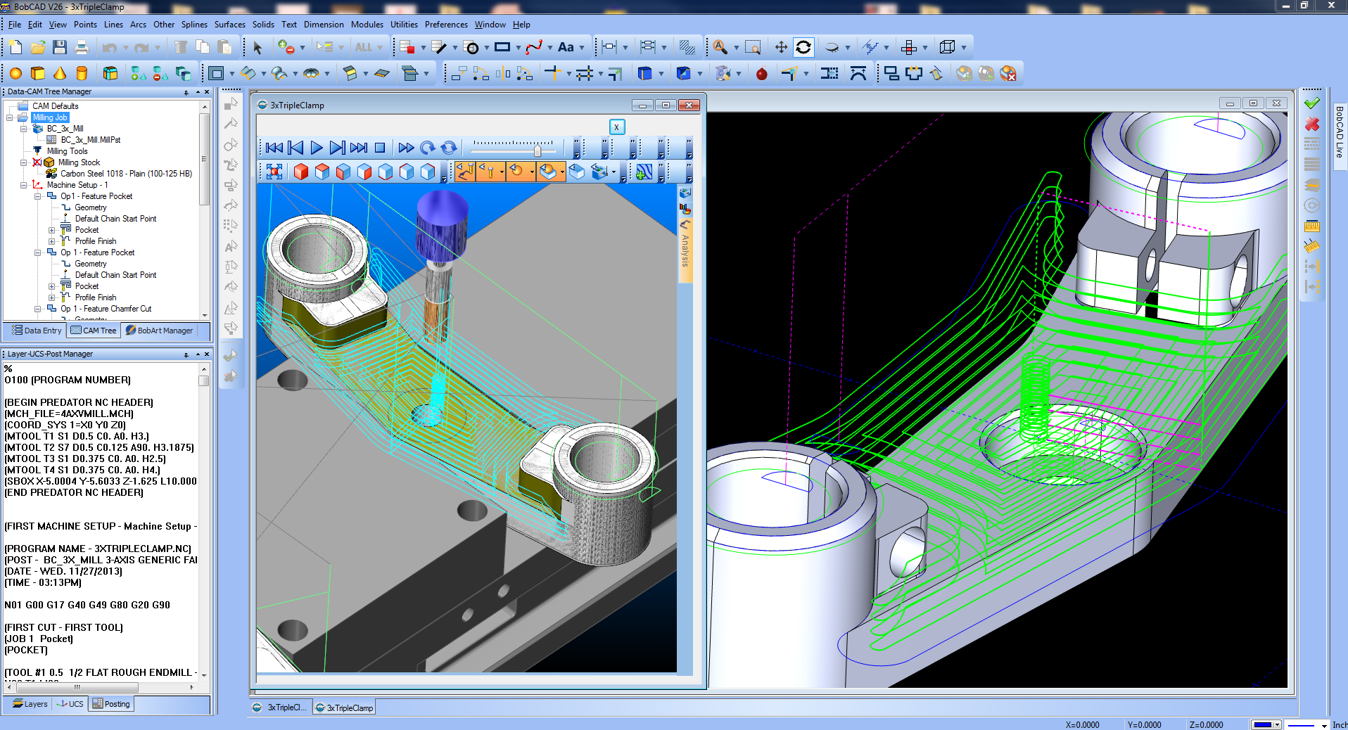 CAM Software for Manufacturing CNC Machining | BobCAD-CAM