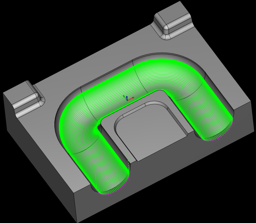 CAD-CAM Surface Based Toolpath Linking & Leads For 3 To 5