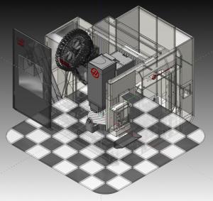 HAAS 750 CAM Simulation