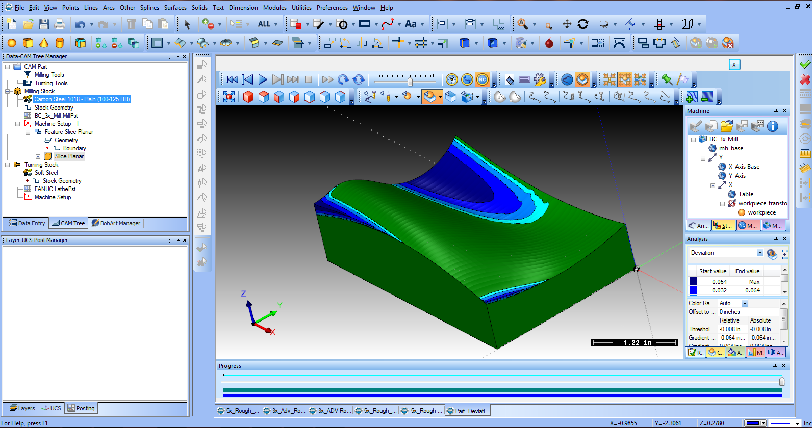 A report on cadcam systems