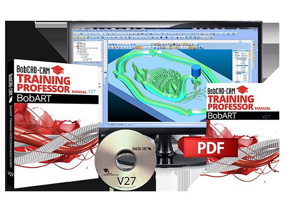 BobCAD-CAM V27 BobART Training Videos