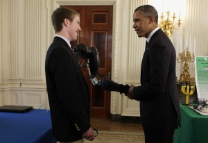 easton-and-president-obama-shaking-hands-with-robotic-arm