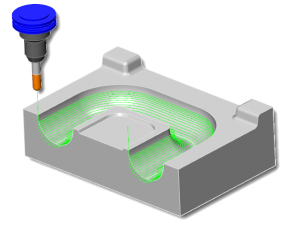 cad cam surface based paths