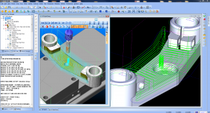CAM Programming Technology Software Milling CNC Simulation