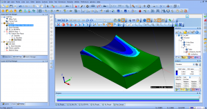 CAM Programming Technology Simulation Deviation Analysis