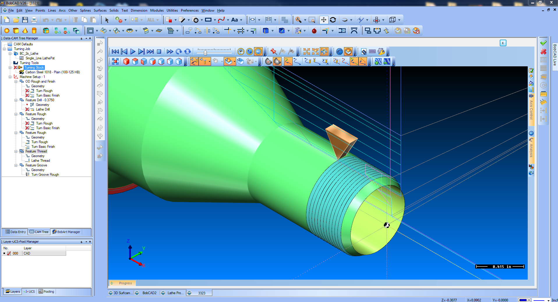 cad cam report Computer-aided manufacturing (cam) is the use of software to control machine tools and related ones in the manufacturing of workpieces this is not the only.