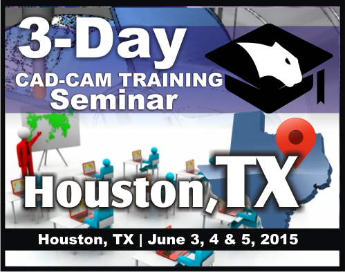 BobCAD-CAM Training Seminar Dates Set For Houston