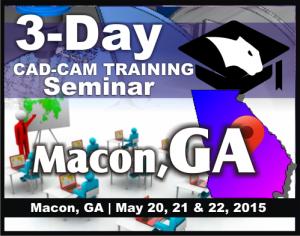 cnc cad cam software training seminars macon ga