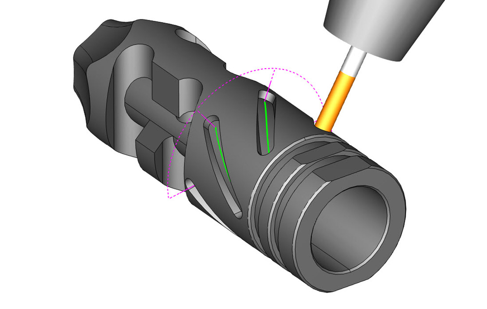 4 Axis Wrapping Groups for CNC Milling with BobCAD-CAM